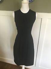NWT J Crew Keyhole Dress in Super 120s Sz 00 XS Extra Small 77202 $198 Black