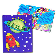 PERSONALISED Children's Story Book - A Space Story - Name & Message - Boys