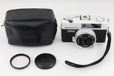 【Exc++】 KONICA C35 Flash matic Compact Film Camera 38mm F2.8 from japan #312