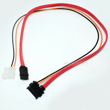 Slimline SATA Cable 13pin (7+6pin) female to SATA female With LP4 Adapter power