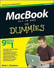 MacBook for Dummies(All in 1) 9 Books in 1~By Mark L. Chambers (2011 Paperback)