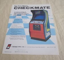 1977 MIDWAY CHECKMATE VIDEO FLYER