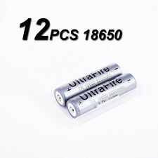 12 x 18650 3.7v 5200mah Ultrafire Recharge Protection Circuit Li-ion Battery US