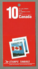 CANADA 1990 Booklet - FLAG OVER SKY Definitives - 10 @ 40c - Mint MNH
