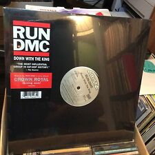 "RUN-DMC 12"" Record DOWN WITH THE KING ~ SEALED MINT RE-issue 2000 + instrumental"