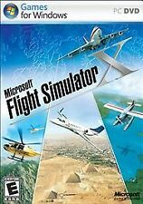 Microsoft Flight Simulator X PC DVD Factory Sealed With Slip Cover Free Shipping
