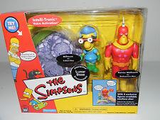 The Simpsons Lunar Base Milhouse Fallout Boy RARE Playmates EB Action Figures