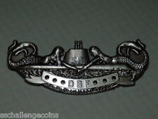 DBF Badge Diesel Boats Forever US Navy Submarine Pin