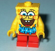 "SPONGEBOB Lego Spongebob ""BIG SMILE BLUE LEI"" NEW Genuine Lego 3818 #20"