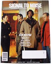 SIGNAL TO NOISE Issue 46 MAGAZINE Summer 2007 Oxbow Greg Davis Siltbreeze Label