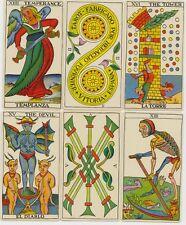 Español Tarot - 78 histórica interpretarte-BILINGUAL-reprint de 1736