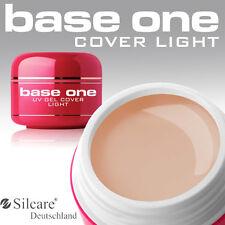 Silcare Base One Cover Light UV Gel Aufbaugel 5g 1 Phasen Camouflage Probe