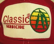 CLASSIC HERBICIDE reverse stitch hat Dupont trucker cap Weed Killer farming