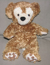 WALT DISNEY WORLD STUFFED PLUSH DUFFY TEDDY BEAR HIDDEN MICKEY GOLDEN BROWN