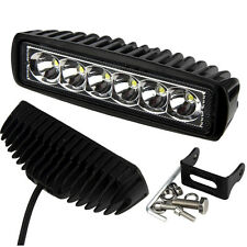 18W Flood LED Light Work Bar Lamp Driving Fog Offroad SUV 4WD Car Boat Truck UK