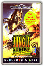 JUNGLE STRIKE SEGA MEGA DRIVE FRIDGE MAGNET IMAN NEVERA