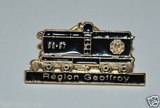 WOW Nice Optimist International Train Coal Car Region Geoffroy Lapel Jacket Pin