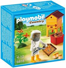 Playmobil 6818 COUNTRY APICULTOR WITH BEES       BRAND NEW / SEALED
