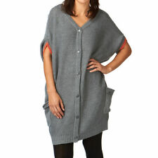 DC Day In Day Out Reversible Knit Dress Grey Size Medium rrp £75 Box3138 J