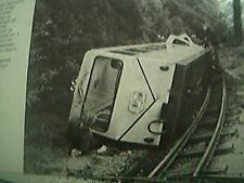magazine picture 1978 locomotive silver jubilee derailed at rock point