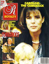 PRINCESS CAROLINE UK Royalty Magazine 1/92 Vol 11 No 4 PRINCESS ANNE