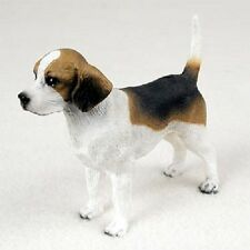 BEAGLE dog FIGURINE puppy HAND PAINTED Statue COLLECTIBLE resin NEW pet hound