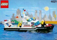 LEGO 4021 - Boat: Police: Police Patrol - 1991