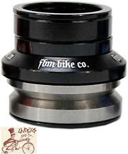 "FBM BIKES INTEGRATED 1-1/8"" BLACK BMX BICYCLE HEADSET"