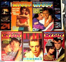 MY GUY - 5 British Annuals IPC Magazines UK Love Life HB Photos VF+ 1979-1988