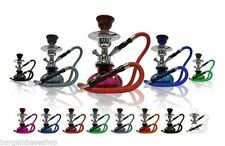 "11"" SHISHA JUNIOR MODERN HOOKAH NARGILLA TRAVEL KIT  1 PIPE + CHARCOAL + GIFT"