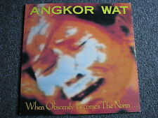 Angkor Wat-When Obscenity becomes the Norm LP-1989 Canada-Trash- Metal Blade Rec