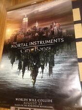 The Mortal Instruments, City Of Bones AUTHENTIC Huge MOVIE POSTER, 2 Sided, 4x6