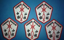 5 Lot Vintage 1970's Chinese Shaolin Martial Arts Uniform Gi Patches MMA 264