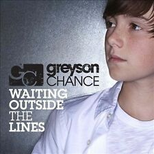Waiting Outside the Lines [Single] by Greyson Chance (CD, Dec-2010, Geffen) NEW