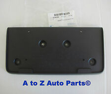 New 2010, 2011, 2012, 2013 GMC Terrain Front License Plate Bracket, OEM GM