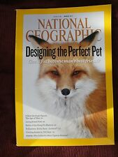 National Geographic - March, 2011 designing the perfect pet plus population map