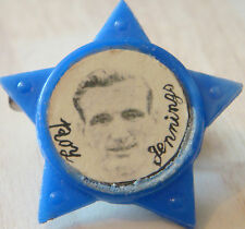 BRIGHTON & HOVE ALBION  Player ROY JENNINGS 1952-64 Rare STAR Badge