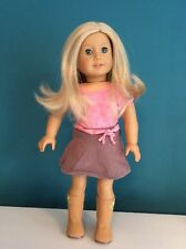 Genuine American Girl JLY Doll Blond Layered Hair w/ Blue Eyes