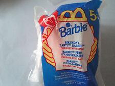 MCDONALD'S BARBIE #5 BIRTHDAY PARTY BARBIE 1999