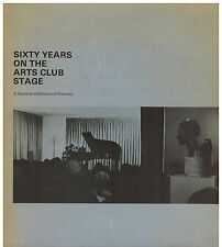 Sixty Years on the Arts Club Stage - A Souvenir Exhibition of Portraits -Chicago