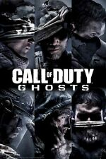 CALL OF DUTY POSTER ~ GHOSTS PROFILES 24x36 Video Game Modern Warfare Black Ops