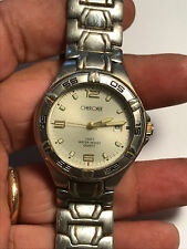 Nice Men's Silver Tone Cherokee 32-916 Analog Watch With Date Feature