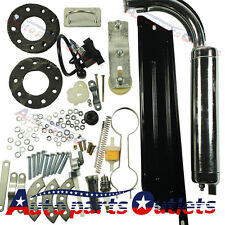80cc Bike 2 Stroke Gas Engine Motor Kit DIY Motorized Bicycle Black
