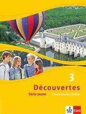 Decouvertes / Grammatisches Beiheft: Serie jaune (ab Klasse 6)