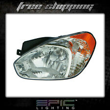 Fits 2007 HYUNDAI ACCENT HATCHBACK  HEADLIGHT/LAMP  Driver Side Left Only