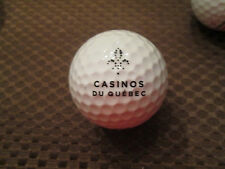 LOGO GOLF BALL-CASINOS DU QUEBEC....CASINO