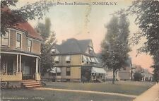 New York NY Postcard DUNKIRK Chautauqua County 1911 SWAN STREET Homes 19