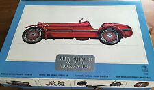Original Pocher Alfa Romeo 8c 2300 monza 1931 kit k71 model kit scale 1:8