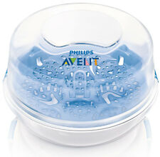 Official Philips Avent Microwave Steriliser Baby Bottles VGWC* +Warranty