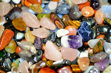 20 tumbled stones Med (15 - 20 mm) polished crystal tumblestones gemstone heal